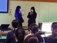韓国語スピーチの披露